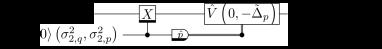 Single-qubit quantum error correction (SQEC) for reducing the variance in the