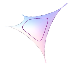 A closed geodesic in a maximal Enneper surface in