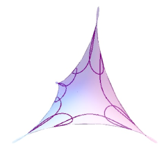 Another closed geodesic in a maximal Enneper surface in
