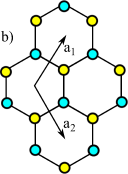 Crystal structure of monolayer MX