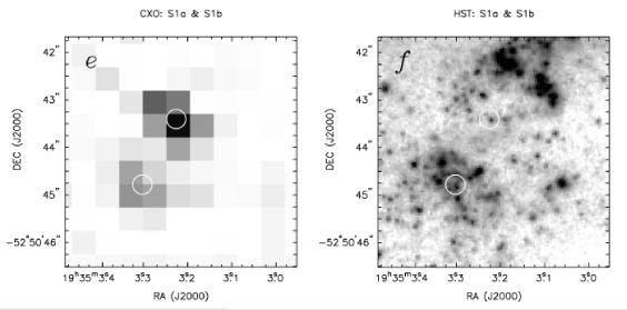 The location of SN1998bw as viewed at late times by