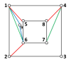 (a) to (l) are the topology structures corresponding, respectively, to each of the figures in Fig.