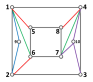 (a) to (n) are the topology structures corresponding to, respectively, each of the figures in Fig.