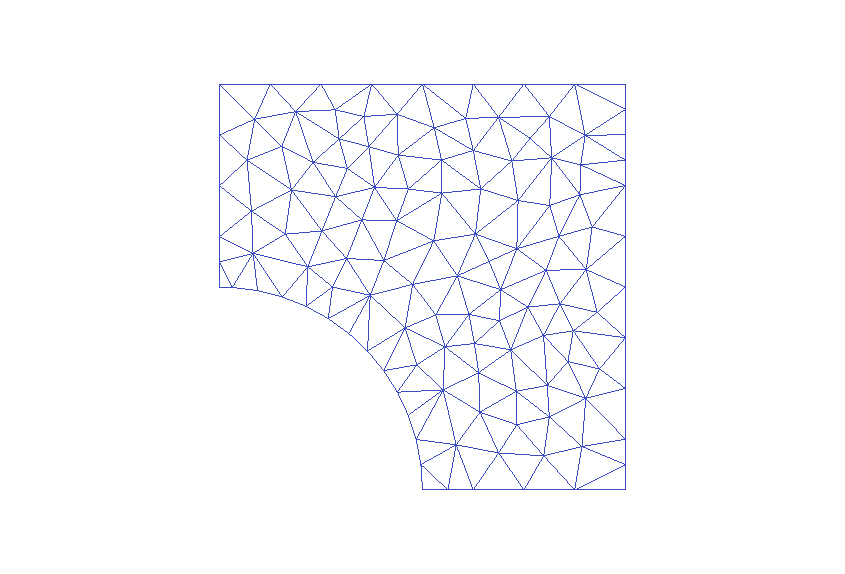 Coarse grid 1: 123 nodes, 202 triangles