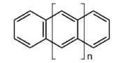 Schematic drawings of polyacenes