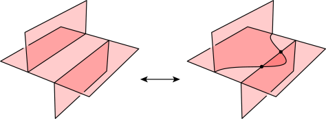 The lune move introduces two true vertices.