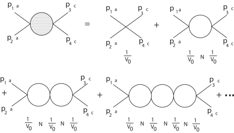 The scattering amplitude studied in Ref.