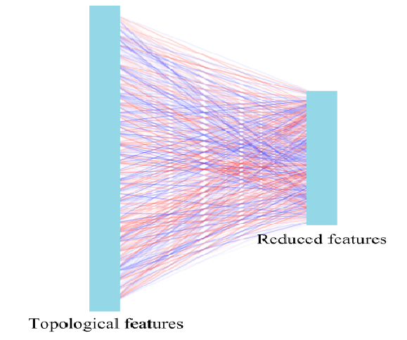 The sub-net for reducing topological features in Model