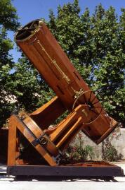The 80cm Marseille telescope used by Fizeau and Stephan. ©Michel Marcelin.