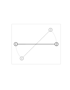 Target formation in black; initial formation in grey. (a) Bearing constraints for the target formation are
