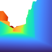 Visualization of results on tasks of monocular normal and depth estimation. Models are trained and evaluated on HoliCity.