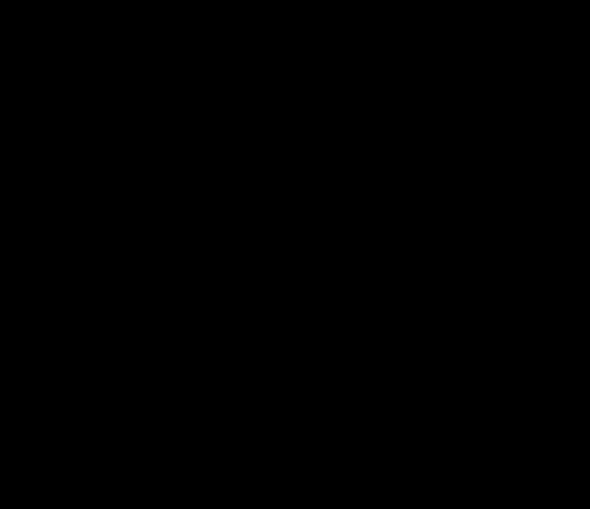 The level crossing pattern for the intermediate mass scale scenario.