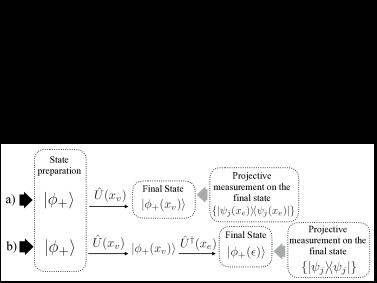 Quantum estimation process of the parameter