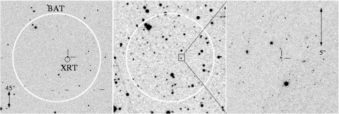 -band imaging of the field of GRB050820A.