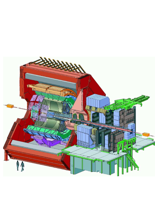 ALICE schematic layout