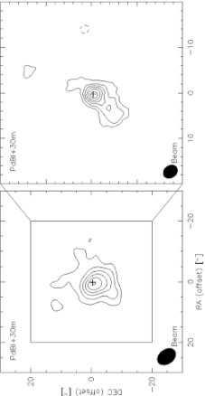 PdBI central maps corrected with 30m data for short-spacing effects of the integrated CO(1–0) (