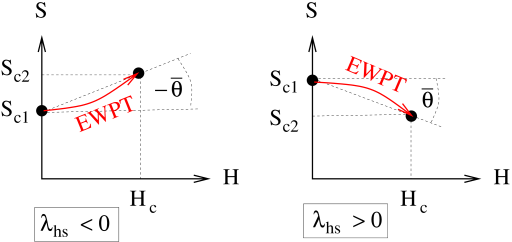 Trajectories of typical EWPT in