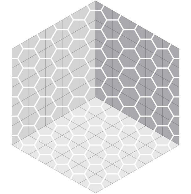 """The """"Empty room"""" configuration of honeycomb dimers"""