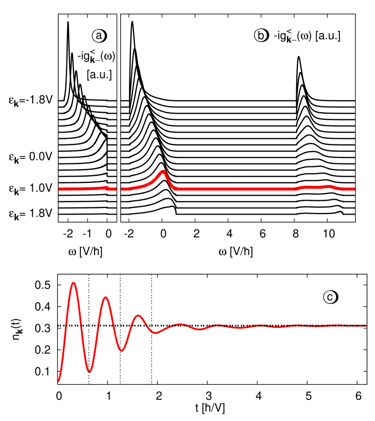 The momentum-dependent Green function