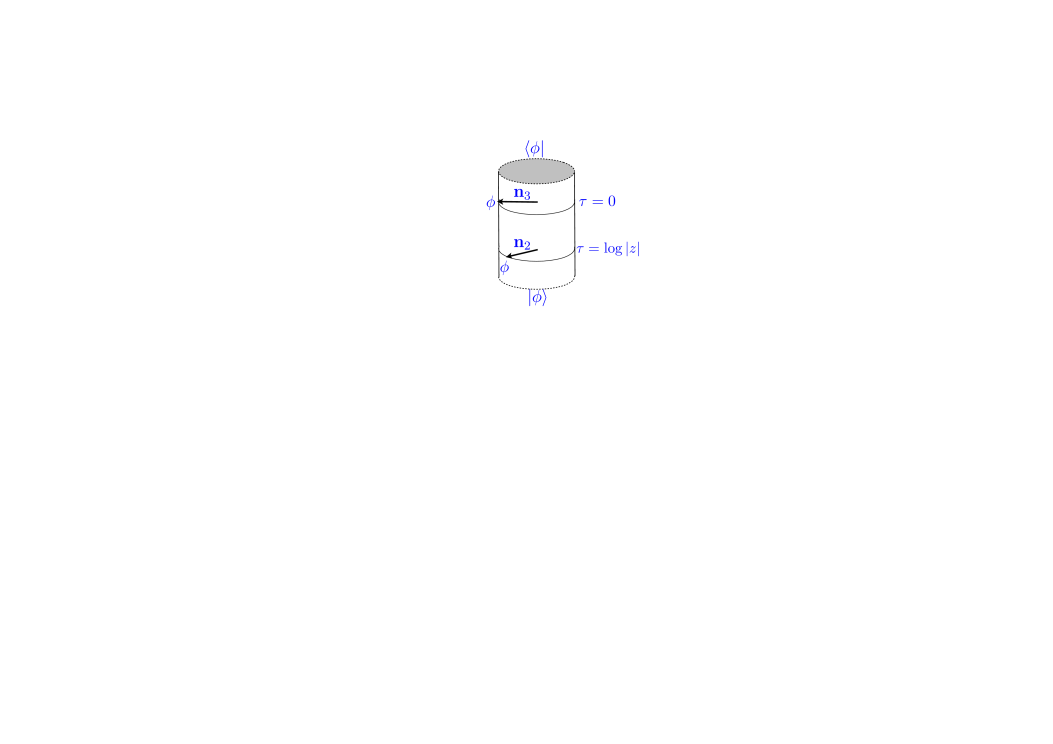 Using a Weyl transformation, the configuration in Fig.