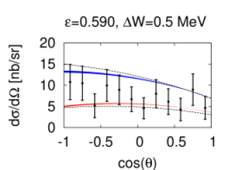 Differential cross section at