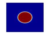 Solution snapshots of the Cahn-Hilliard equation (