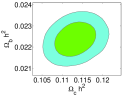 2-dimensional constraint of the cosmological and model parameters contours in the flat interacting GDE model in the BD theory with