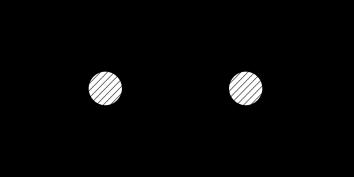 Diagrammatic representation of the recursion relation. Arrows label the momentum flow.