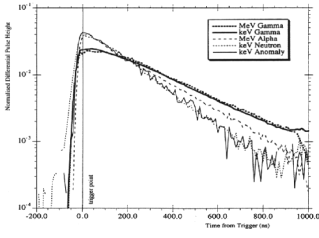 Pulse shapes for gammas, alphas, neutrons and the anomalous events from a 2-kg NaI crystal (UKDMC)