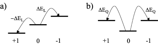 Schematic view of F=1 (