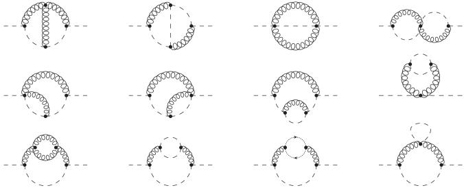 All Feynman diagrams contributing to