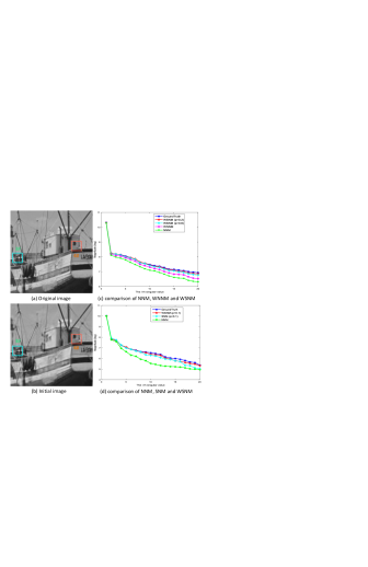 Analyzing the sparsity of each group based nuclear norms minimization in terms of image CS recovery. The image