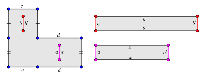 A surface with cylinders of large modulus