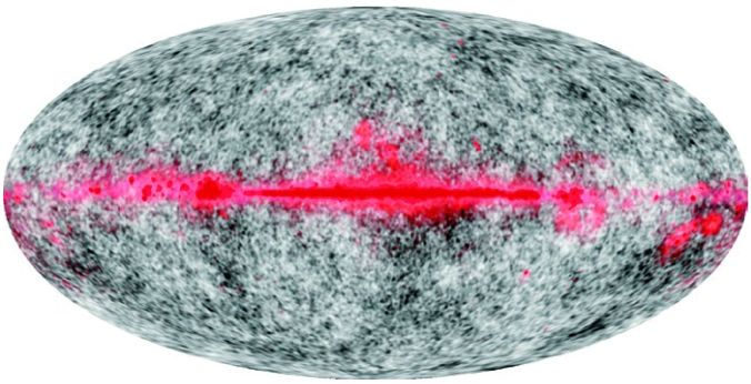 False color image representing the spectral information from multiple