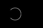 Dark matter scattering off a nucleus through photon exchange.