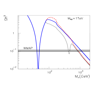 Effect of the t-channel annihilation on