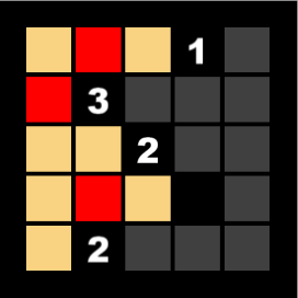 Partially solved puzzle.