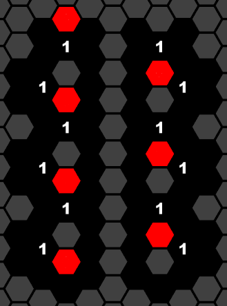 True (left) and False (right) configurations of the WIRE shown in Figure