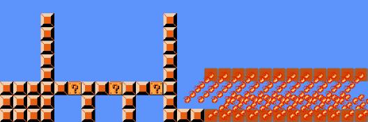 Clause gadget for Super Mario Bros..