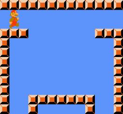Variable gadget for Super Mario Bros..