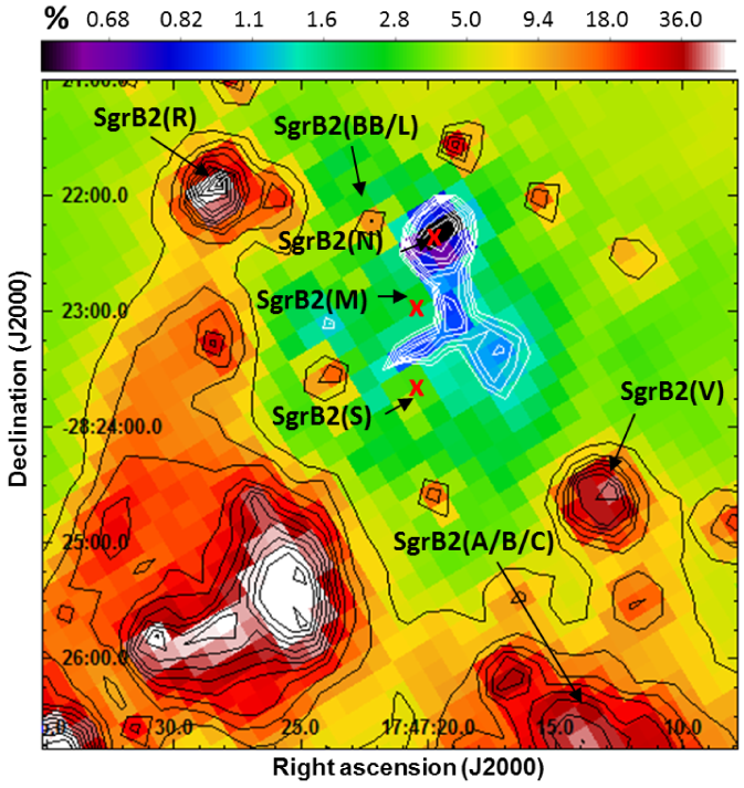 Plot represents an upper limit to the total contribution of the VSGs emission to the dust thermal radiation at 70