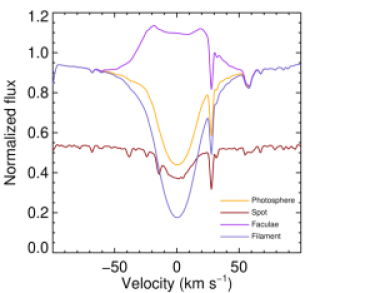 Model surface feature H