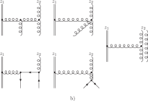 Wilson-lines are omitted since light cone gauge