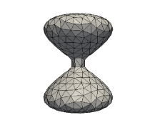 Normal evolution of a closed surface at time
