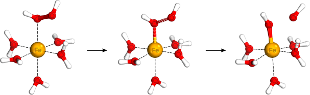 Structural model for the homolytic bond dissociation process of the Fenton reaction: a process of homolytic bond dissociation of hydrogen peroxide