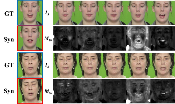 Example of bank images selection mask