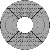 Foliations in the annulus