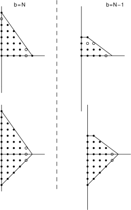 Newton polygon of SCFT defined by 6d