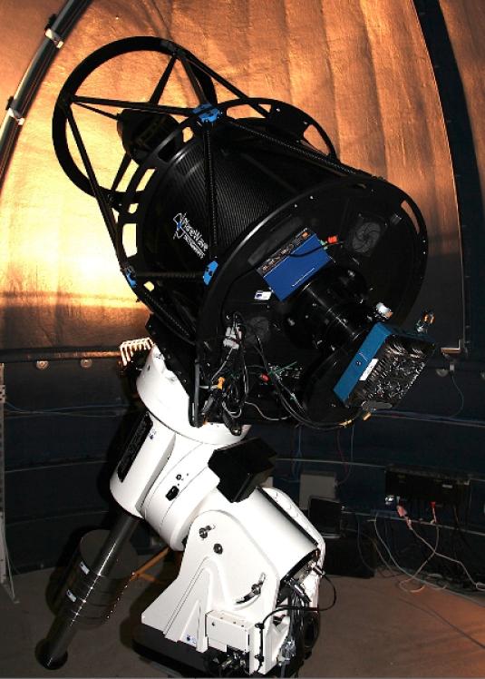 The Dunlap Institute Arctic Telescope undergoing testing in New Mexico.