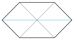 Maximally extended Schwarzschild spacetime. There are two asymptotic regions. The blue spatial slice contains the Einstein-Rosen bridge connecting the two regions.